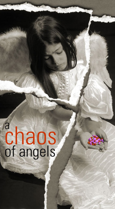 a chaos of angel book release at Moonday